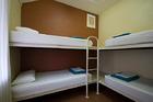 アウトバックパイオニア4人部屋ドミトリーの一例
