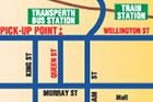 集合場所地図