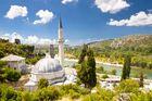 高台から見たポチテリのモスク