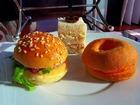 可愛い見た目のハンバーガー
