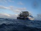 3階建ての船で、滞在中は快適に過ごすことができます