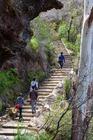 長い階段も景色を見ながらだと楽しめる!