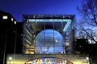 夜のアメリカ自然史博物館