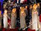 天使たちが賛美歌を歌う聖なる夜