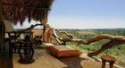 宿泊施設から見るタンザニアサファリの大自然