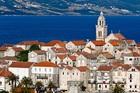 自然と歴史的建造物からなる美しい街コルチュラ島