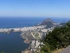 リオの街並みやサッカースタジアムなどを見渡せる絶景