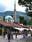 ボスニアヘルツェゴビナの首都サラエボ