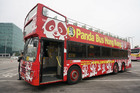 オープントップバスで香港巡り!