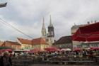 クロアチアの首都ザグレブ