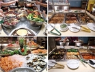 ブッフェ形式のディナーで香港の夜を満喫