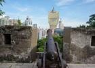 ポルトガル色が色濃く残る聖ポール天主堂跡