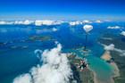 雲の上からジャンプなんて信じられない!