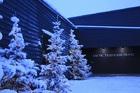 Arctic Tree house hotelのエントランスエリア