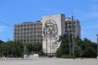 ハバナ新市街の中心部にある広大な革命広場