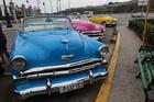 アメリカンクラシックカーでハバナ観光も楽しんで