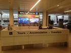 シドニー空港のREDY2GOカウンターでチェックイン