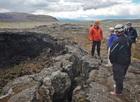 アイスランドで最も大きな火口があるHallmundarhraun