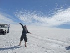 ラングヨークトル氷河でハイキング