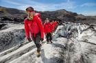 ソゥルヘイマヨークトル氷河を自分の足で歩く!