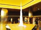 バージュカリファの模型のある待合室