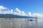 のどかな風景の広がるインレー湖