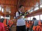 [オプショナル] トンサイベイ到着後、別の船に乗り換えてシュノーケリングツアーへ。