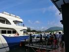 乗船後、ピピ島へ向け出航です。