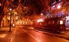トラムカーから見える夜景にうっとり