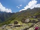 ペルーの世界遺産代表のマチュピチュ遺跡の景色には圧倒されます。