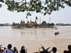 ヤンゴン・タンリンの水上寺院