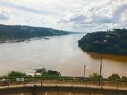 ブラジル、アルゼンチン、パラグアイの3つの国境が集まるトレス・フロンテラス