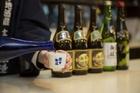 日本酒と甘酒の試飲ができます。
