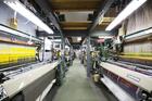 サヌイ織物「博多織工芸館」工房の様子