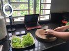カンボジア料理オンライン体験の様子