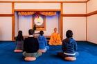 阿字観瞑想で煩悩を払う