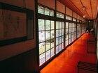 無量光院の宿坊の廊下