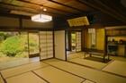 櫻池院の宿坊の部屋の様子。