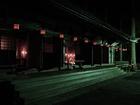 山王院を夜に訪問