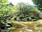 那智山 正暦寺の庭の様子