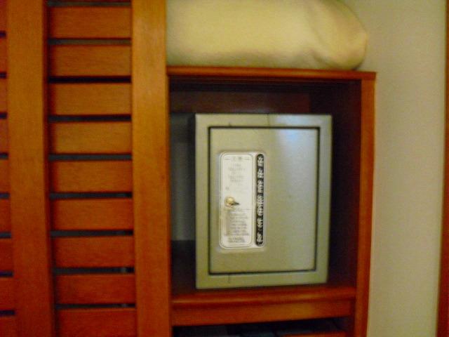 セキュリティーボックスも各部屋に設置されています