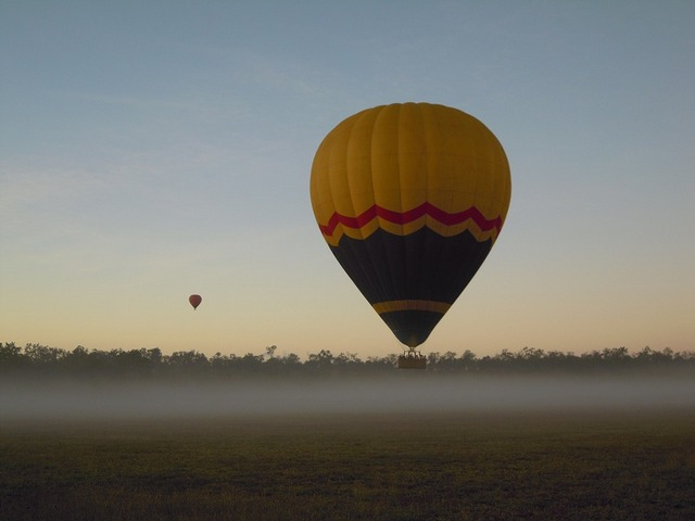 霧が出てる日は、幻想的!