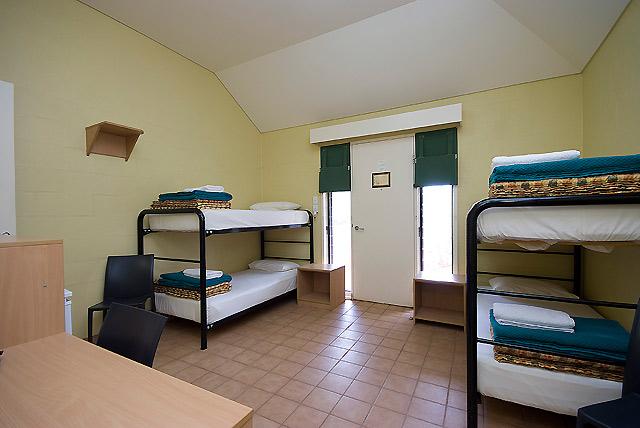 アウトバックパイオニア 4人部屋(一例)
