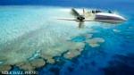 小型飛行機で楽々移動
