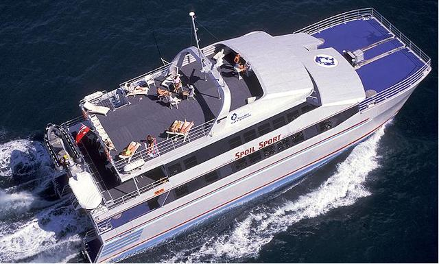 快適なボート