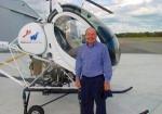 ヘリコプター操縦にチャレンジ