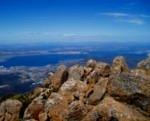 ウエリントン山からの眺め