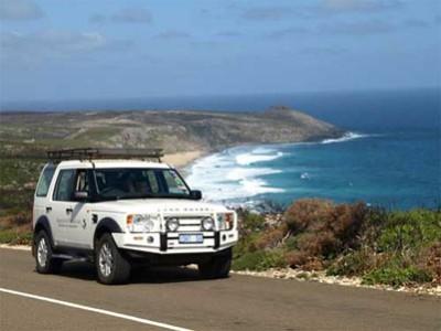 快適な4WDでカンガルー島を満喫