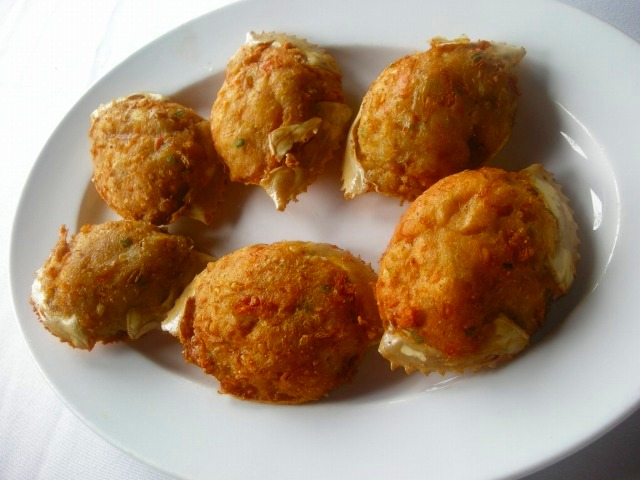 ランチの海鮮料理