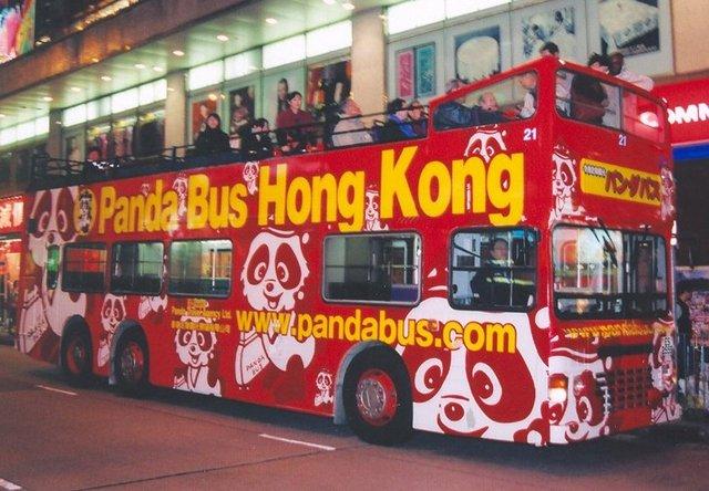 パンダバスに乗車します!